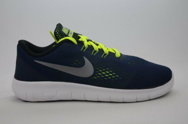 new style 522aa 3d340 Nike Free RN (GS) Obsidian Youth Size 3.5Y-6Y New in Box NO Top Lid 833989  403