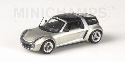 Te  er un voeu Smart Roadster Coupe' 2003 Silver Grey 1:43 Model 400032121 MINICHAMPS | Apparence Attrayante  | Une Forte Résistance à Chaleur Et Résistant  | Un Approvisionnement Suffisant