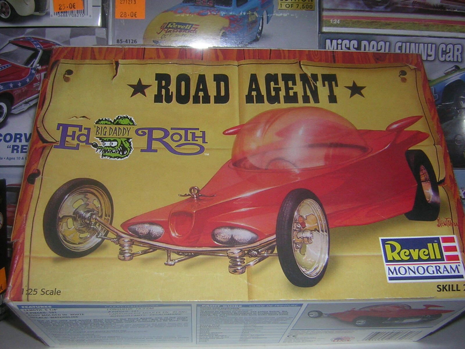1 25 ROAD AGENT  by Big Daddy rougeh  hot rod REVELL