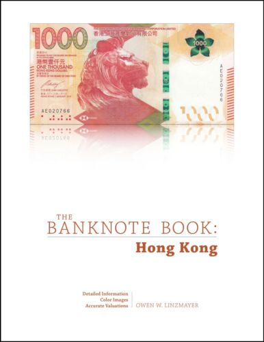 The Banknote Book Hong Kong chapter PDF from best catalog of world notes