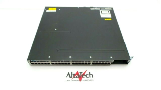 Cisco WS-C3750X-48T-L Catalyst 3750X 48-Port 10/100/1000 Lan Gigabit Switch