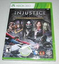 Injustice Gods Among Us Ultimate Edition Xbox 360 Factory Sealed