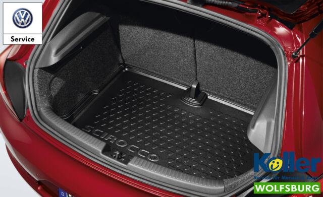 Original Volkswagen Bac de Protection pour Coffre Coque Sirocco