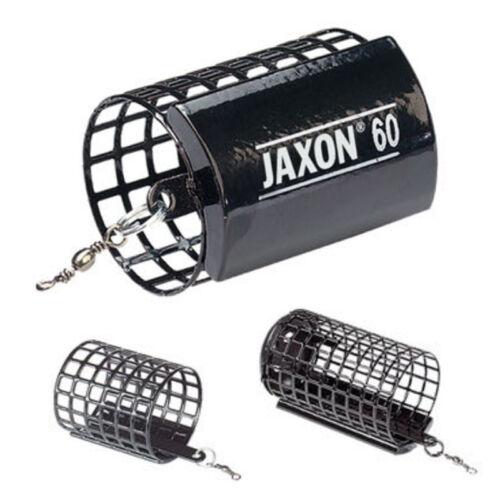 JAXON Futterkorb  Ø32mm Feeder Angler Köder Korb Gewicht 5-120g schwarz x5//x10