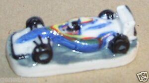 Charm Formule 1 Bleu Clair Course Grand Prix Feve Porcelaine 3d 1/160 J9ger2bi-07225120-628973131