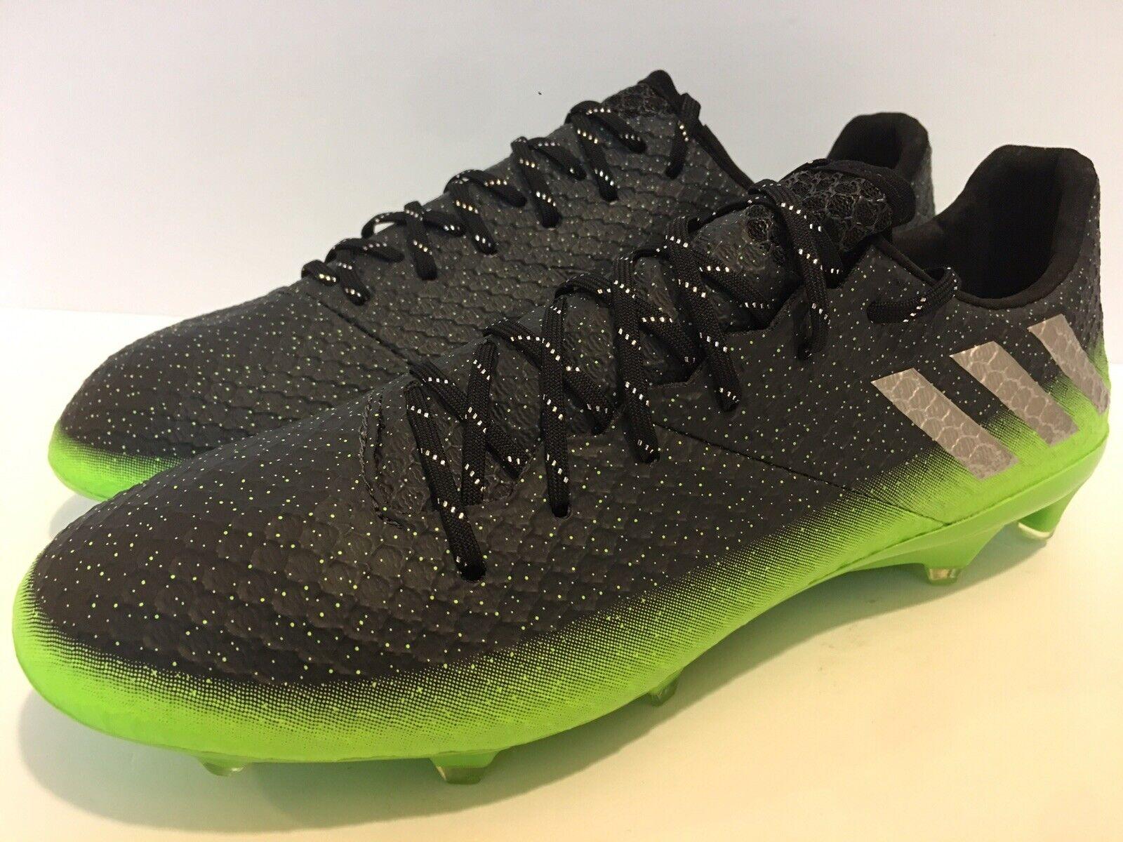 Adidas Messi 16.1 FG Space Dust Soccer Cleats Taille Pour des hommes 9
