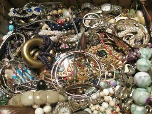 Jewelry-Lot-ALL-Good-Wear-Resell-Brooch-Art-Estate-Vintage-Modern-5-Pc-NO-Junk