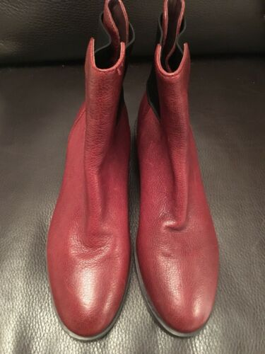 Burgendy New Brand Kvinner Boots Størrelse Clarks 7 gwnH7