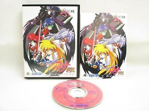 Details about GALAXY FRAULEIN YUNA FX PC-FX Boxed NEC Japan Game pf