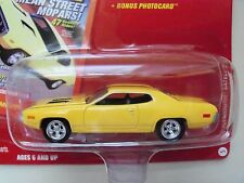 JOHNNY LIGHTNING - MOPAR MUSCLE MAGAZINE - 1972 PLYMOUTH SATELLITE - DIECAST