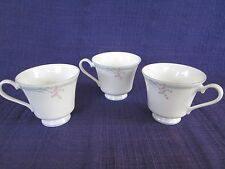 Royal Doulton Carnation Micro FOOTED CUP *SET of THREE* (3)  have more items
