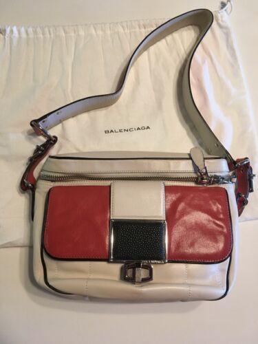 Balenciaga Color-Block Shoulder Bag