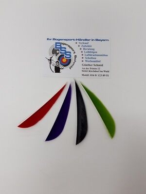 """Rapture 6 X Naturfedern Gateway Parabolic 3"""" R/w Bogenschießen 3d Pfeile Befiederung Archery"""