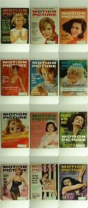 Lot-of-12-Motion-Picture-Magazine-1962-Back-Issues-Feat-Marilyn-Monroe-amp-Elvis