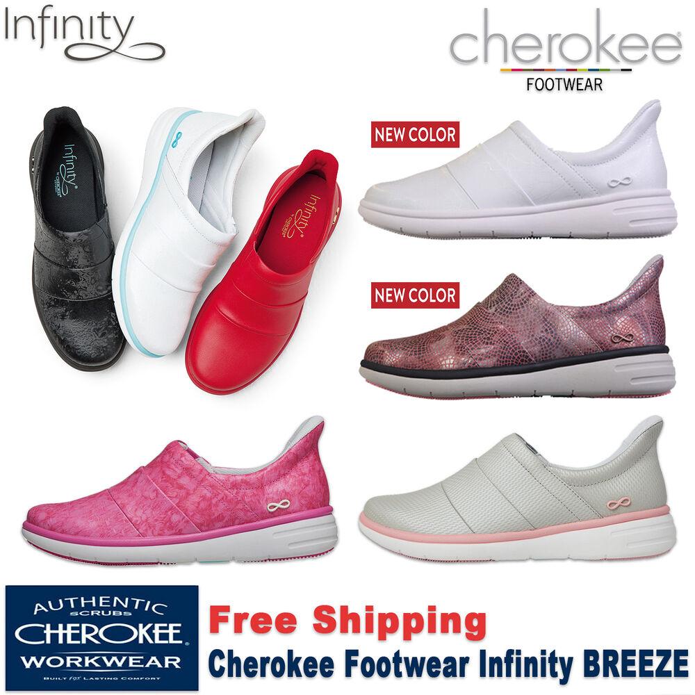 Cherokee Travail Infinity Breeze Femmes à Enfiler Athlétique Chaussure Cuir
