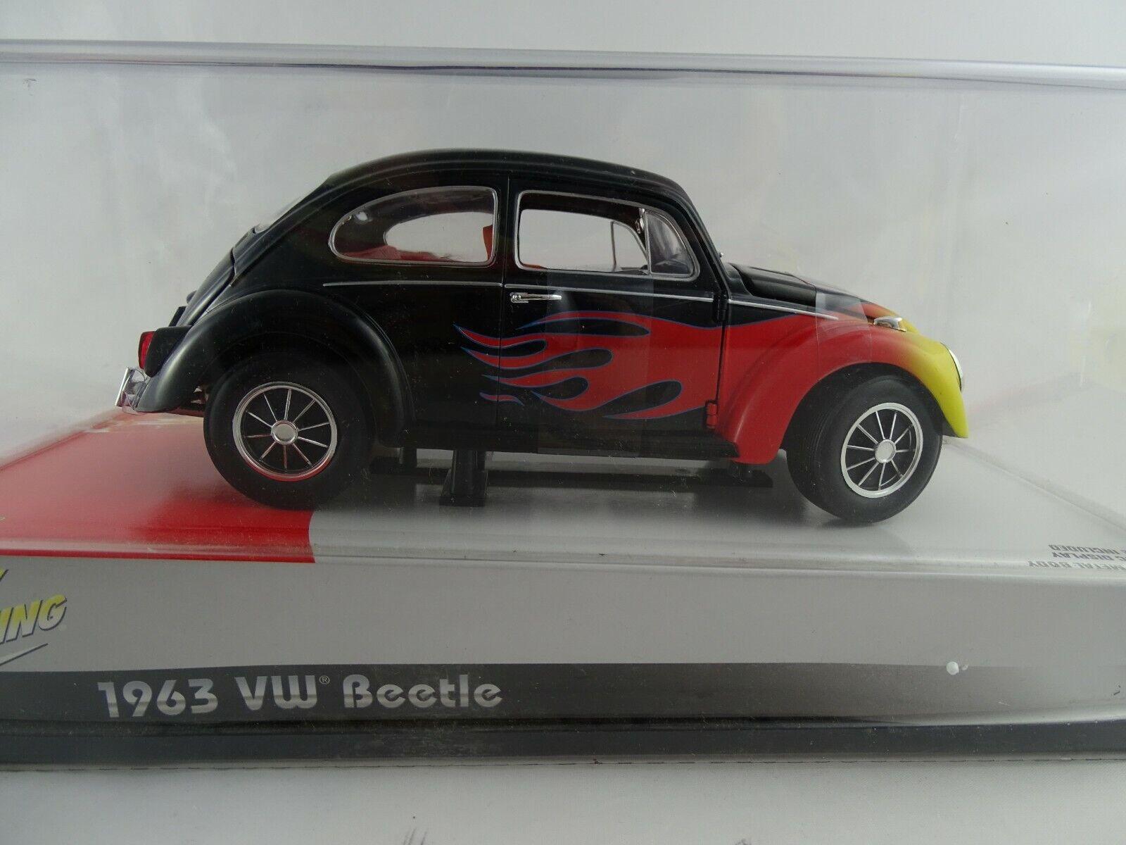 1 18 Johnny Lichtning  1963 VW Beetle AGES  6 And UP RARITÄT Neuwertig