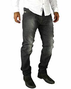 DIESEL-Darron-0R688-Herren-Men-Hose-NEU-Regular-Slim-Tapered-Jeans-Hose-Grau