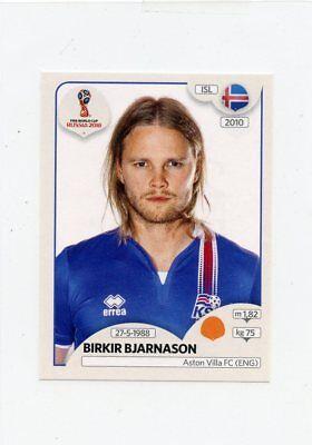 Panini WORLD CUP 2018 Rusia-Birkir Sævarsson Islandia no 295