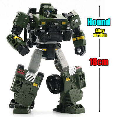 WeiJiang M02 Hound Autobot Transformers Movie Alloy Robot Action Figure In Stock