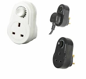 Dimmer-Socket-Switch-Light-Table-Lamp-Mains-Plug-in-Black-or-White