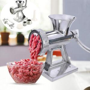 Meat Grinder Multi Mincer Stuffer Hand Manual Sausage Filler Sauce Maker Machine