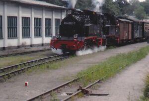 altes Foto BR 99 4802-7 Probefahrt 29.07.2009 ca. 10x15cm mg2-2459f