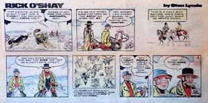 Rick-O-039-Shay-by-Stan-Lynde-full-color-Sunday-comic-page-February-15-1976
