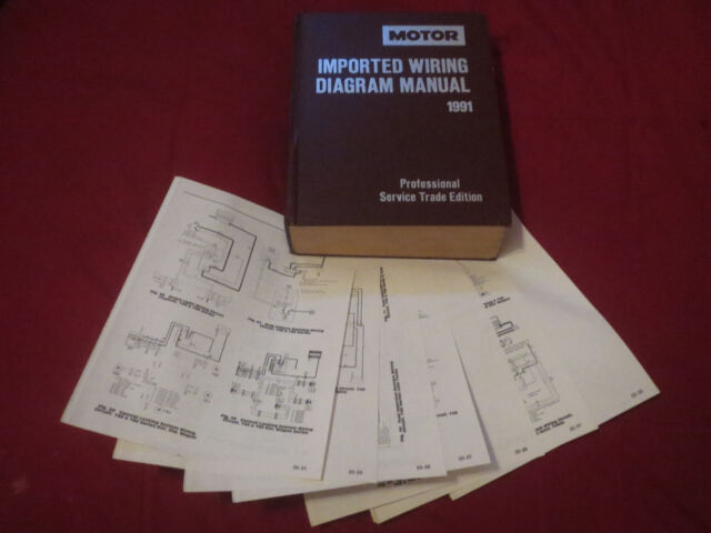 1991 mitsubishi mirage wiring diagrams schematics set  ebay