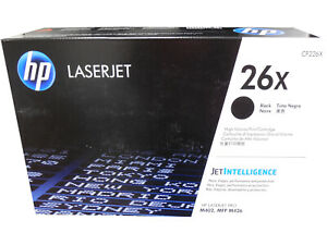 HP-CF226X-26X-Hewlett-Packard-High-Yield-Black-Toner-Cartridge-Genuine-OEM