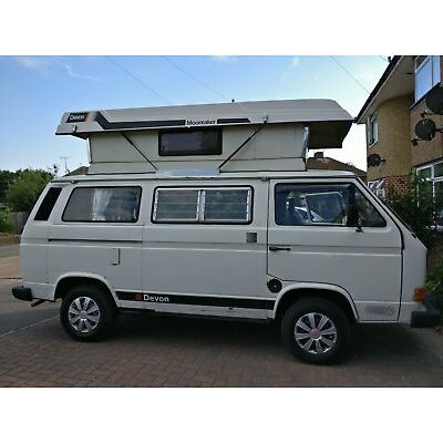 1986 VW T25 Transporter Campervan - Devon Moonraker