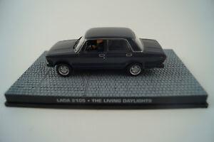 Modellauto-1-43-James-Bond-007-Lada-2105-der-Hauch-des-Todes-Nr-118