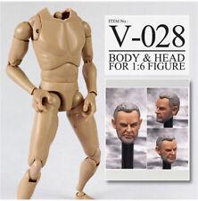 1//6 Scale James Bond Sean Connery PVC Head Sculpt Fit 12/'/' Action Figure Toy