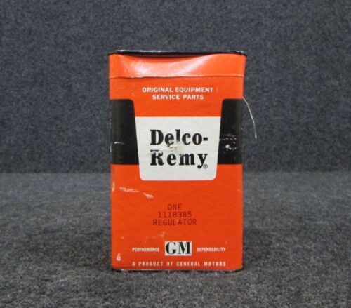NEW OLD STOCK 1118385 Delco-Remy Voltage Regulator 12 Volt