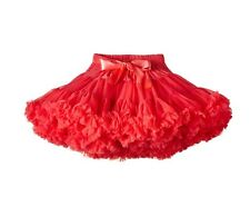 Angel's Face Girls Red Tutu Skirt 3-4 years BNWT