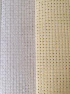 Binca-aida-6-count-cross-stitch-Blanc-Creme-Differentes-Tailles-Coton-10-OFF-2