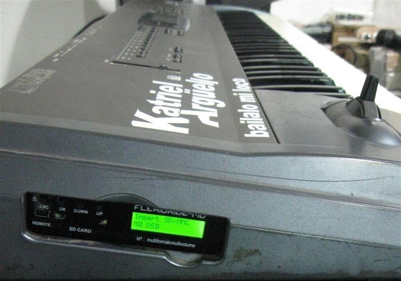 FlexiDrive Floppy Emulator for Korg N364 N-364 - Floppy to SD   USB