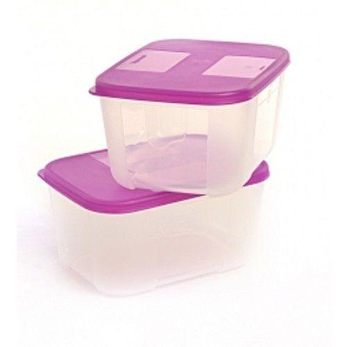 Nouveau Summer SPL tupperware congélateur mate des contenants hermétiques pour congélation à domicile