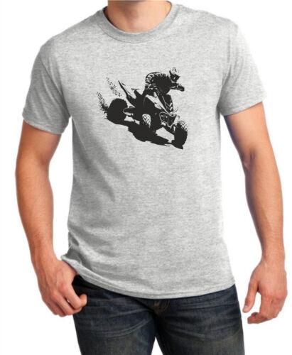Gift Sports Quad Bike Racer Inspired T-shirt Gildan