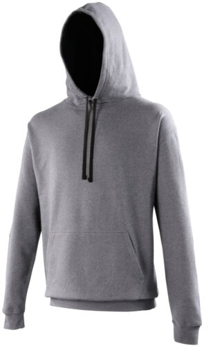 Custom Printed Contrast Hoodie Personalised Front and Back Full Colour AWD JH003