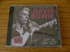 CD Double: David Bowie : Day In Day Out : Live Sydney Australia 1987 : Sealed