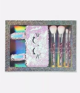 justice bunny make up brush set new in package  ebay