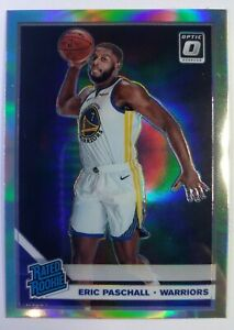 2019-20 Panini Optic Rated Rookie Holo Prizm Eric Paschall RC #199, Refractor