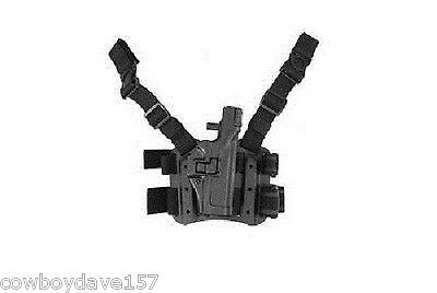 BlackHawk Serpa Tactical Holster Lvl 3 Fits Glock 17 19 22 23 31 32  430600BK-R