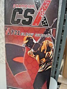 Champion-CSX-ELBOW-SUPPORT-BLACK-LARGE-X-731-XL