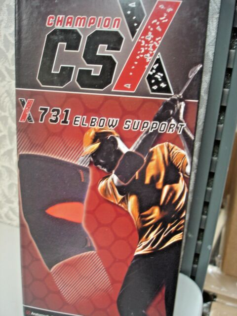 Champion CSX ELBOW SUPPORT BLACK LARGE X 731-L