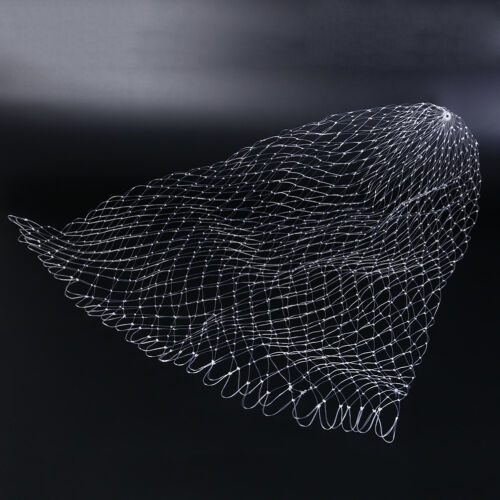 Fishing Tools fish line Net Mesh Hole Depth Folding Landing Dip Net 3 sizes  UE