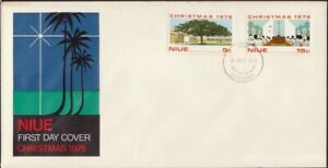 NIUE-1976-Christmas-FDC-unaddressed-D8784