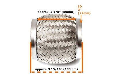Für Mazda Uni Flexrohr Flexstück Flammrohr Hosenrohr Auspuff 45x100 210MM