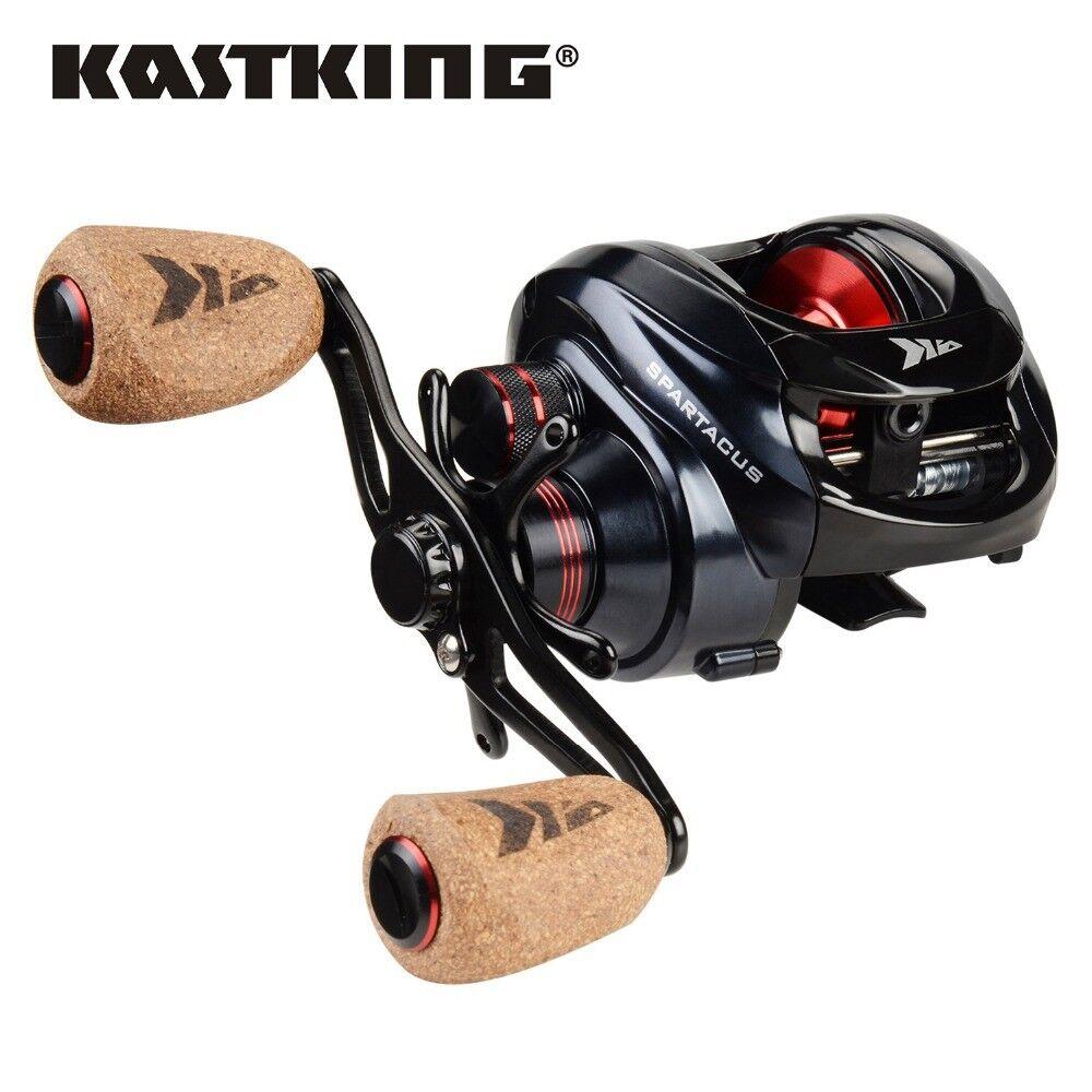 New Arrival  KastKing Spartacus Plus Baitcasting Reel Freshwater Baitcaster