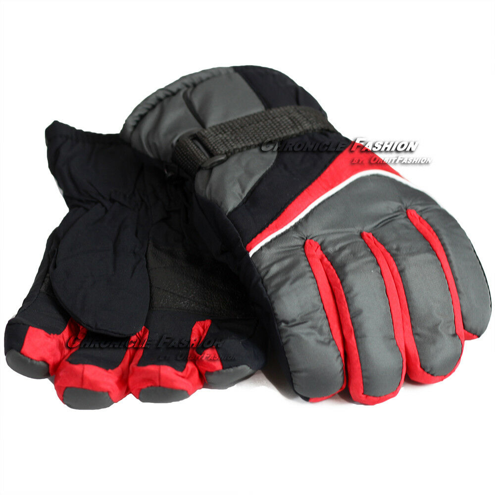 Mens Ski Winter Gloves Windproof Waterproof Warm Snowboard